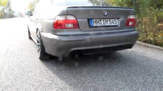 getlinkyoutube.com-BMW E39 530dA with KBR Exhaust Part 1/3