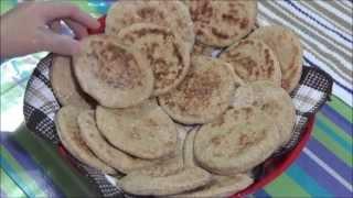 getlinkyoutube.com-طريقة عمل خبز الشوفان Oat Bran Pita Bread