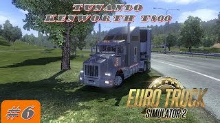 getlinkyoutube.com-Tunando no Euro Truck Simulator 2 #6 Tunando Kenworth T800