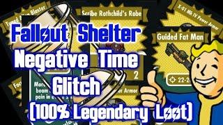 getlinkyoutube.com-Fallout Shelter - Negative Time Glitch (Patch 1.1)