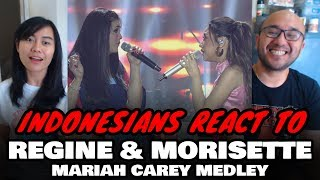 Indonesians React To REGINE & MORISSETTE - Showdown of (Maria Carey Songs)