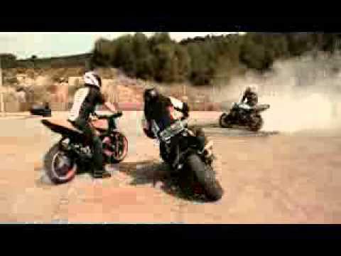Trucos con motos