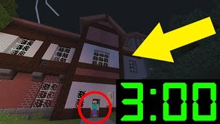 getlinkyoutube.com-OMG! Do NOT Play this Mansion in Minecraft Pocket Edition at 3:00 AM!!