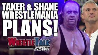 getlinkyoutube.com-Brock Lesnar BANNED From WWE Show! Undertaker & Shane McMahon Wrestlemania Plans! | WrestleTalk News