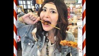 getlinkyoutube.com-【衝撃映像】大食い女王・アンジェラ佐藤の食活が悲惨…
