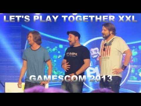 LET'S PLAY TOGETHER XXL (LPT XXL) - Gamescom 2013 - Zusammenschnitt aus der Masse [HD]