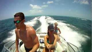 getlinkyoutube.com-Miami To Exuma Bahamas Part VIII - Sunken Plane