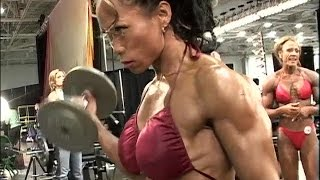 getlinkyoutube.com-Dawn Riehl - Female Muscle Fitness Motivation