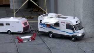getlinkyoutube.com-HYMER CAMPER Caravan / WOHNMOBIL -  (RADIO REMOTE CONTROLLED)