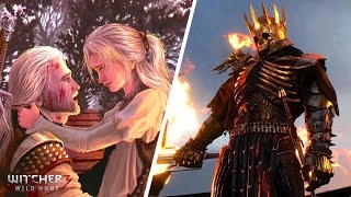 WITCHER 3 - TOP 10 FACTS (Ciri & Geralt, The Wild Hunt, Cyberpunk 2077, and More)