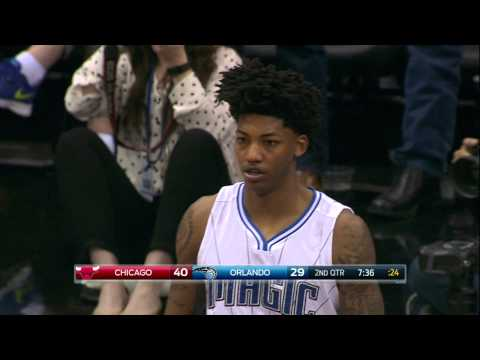 Elfrid Payton Puts Taj Gibson on a Poster with the Putback