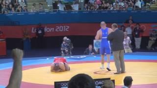 getlinkyoutube.com-Artur Taymazov (UZB) vs Tervel Dlagnev (USA) 120kg