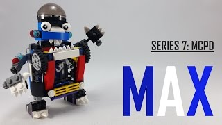 LEGO Mixels | SERIES 7 | How To Build/Instructions | MCPD MAX!