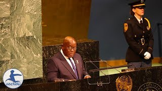 Ghanaian President Speech at the United Nations General Assembly