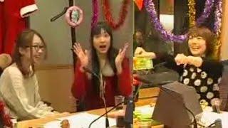 getlinkyoutube.com-花澤香菜「エロいって言われた///」戸松遥「指がウメェw(名言)」矢作紗友里「何だコイツら~!」おしゃべり詰め合わせ♪大人になった仲良し3人の2011年☆クリパ☆その①