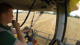 Harvest 2016 - Combining Winter Barley