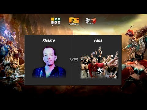 KNekro vs Fans - Showmatch League of Legends