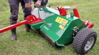 Wessex AFE 120 Flail mower