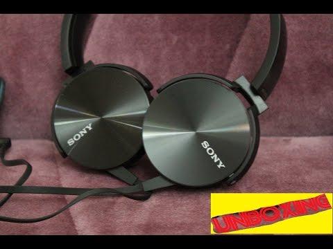 استعراض سماعة سوني جودة عالية بسعر مناسب |Sony MDR-XB450AP