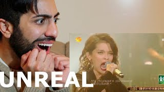 KZ TANDINGAN'S ROLLING IN THE DEEP @ THE SINGER 2018 (REACTION)