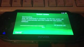 getlinkyoutube.com-How to: Updating the PS Vita to a specific Firmware