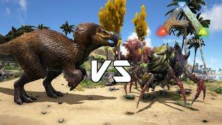 getlinkyoutube.com-ARK: Survival Evolved - DodoRex vs Broodmother Lyrix - Dino Battle
