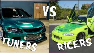 getlinkyoutube.com-Tuners vs Ricers, The key differences