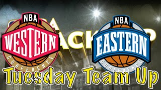 East vs West All Star Battle!! - Tuesday Team Up!!