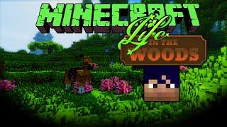 getlinkyoutube.com-Minecraft: Life In The Woods - E13 - Hästjakt [svenska]