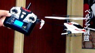 getlinkyoutube.com-WLTOYS V911 / Hobbyking FP100  Micro Helicopter ラジコンヘリ