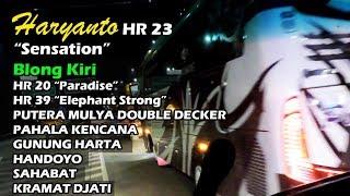 JOSS TENANN!! Haryanto HR 23 BLONG KIRI HR 20, 39, Pahala Kencana, Putera Mulya Double Decker, dll