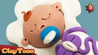 It's a boy - Polymer clay tutorial | طفل رضيع - تشكيل صلصال للأطفال
