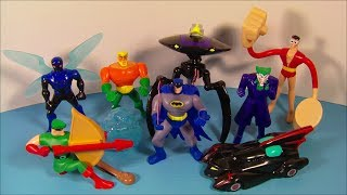 getlinkyoutube.com-2010 BATMAN THE BRAVE and THE BOLD SET OF 8 McDONALD'S HAPPY MEAL KID'S TOY'S VIDEO REVIEW