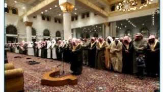 getlinkyoutube.com-السديس يؤم المصلين في جامع الملك فهد بعيون الجواء