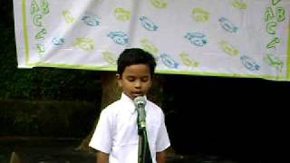 Krishna's Welcome Speech - UKG Graduation Ceremony