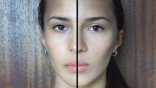 getlinkyoutube.com-Ako zamaskovať problematickú pleť / How To Cover Acne Prone Skin