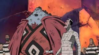 getlinkyoutube.com-One Piece Epic Moment - Luffy Punches Demon Guard in Impel Down [HD]