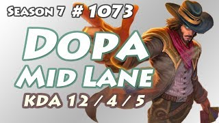 Dopa - Twisted Fate vs Viktor - KR LOL Challenger