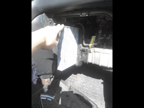 Honda CR-V замена салонного фильтра