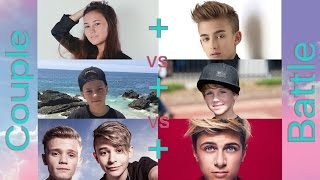 getlinkyoutube.com-Johnny Orlando/Alisa Son - Stitches VS Hayden Summeral/MattyB - Boyfriend VS Lukas Rieger/BM - Faded