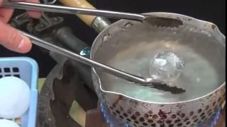 น้ำแข็งแห้ง + น้ำร้อน เกิดอะไรขึ้น