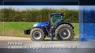 New Holland #T7HeavyDuty in action - Park Brake