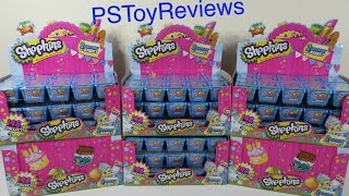 Huge Shopkins Palooza Blind Basket Case Opening Unboxing Round 1 of 6