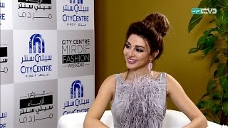 getlinkyoutube.com-Myriam Fares interview with Take II / لقاء خاص مع ملكة المسرح ميريام فارس