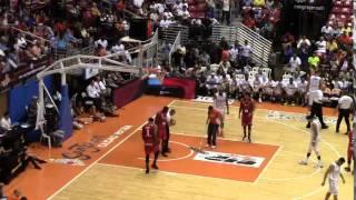 getlinkyoutube.com-Santurce vs Ponce Game 6 (Mike Rosario #7 Red)