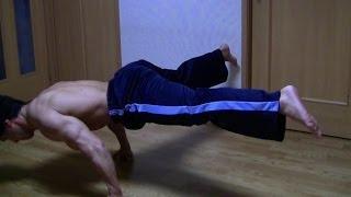 getlinkyoutube.com-プランシェ(足を付けない腕立て伏せ)の練習方法をご紹介
