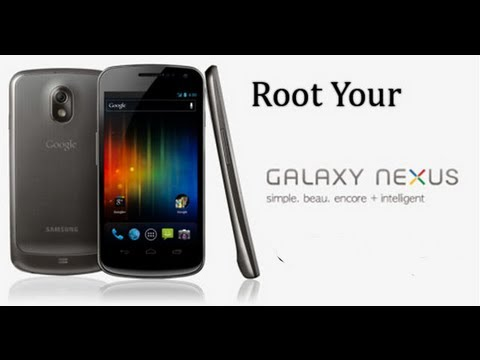How to Root Galaxy Nexus Jelly Bean / Ice Cream Sandwich! [GSM/Verizon/Sprint] [Windows]