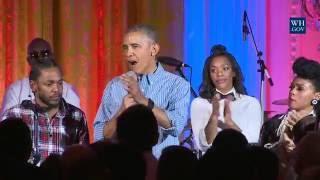 Kendrick Lamar & Janelle Monae chantent pour Barack Obama pour le 4 juillet