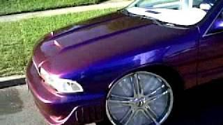 "getlinkyoutube.com-ALL WHITE EVERYTHING Dodge Ram on 30s,Monte Carlo 24"" Davins"
