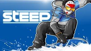 getlinkyoutube.com-STEEP - SNOWBOARDING, FLYING AND CRASHING!